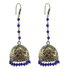 Jaipuri Jhumka-Oxidized Jhumkai- Dome Shaped Treated Lapi... https://www.amazon.co.uk/dp/B06Y496N8D/ref=cm_sw_r_pi_dp_x_foBEzb6626WKZ
