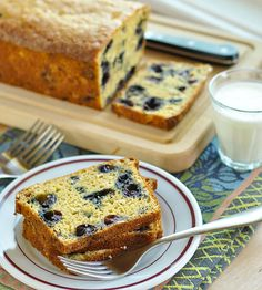 Recipe: Blueberry-Oat Quick Bread Recipes from The Kitchn | The Kitchn