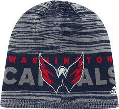 adidas Men s Washington Capitals Locker Room Navy Knit Beanie d0a68939a