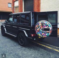 Mercedes G Wagon design by Ben Daye