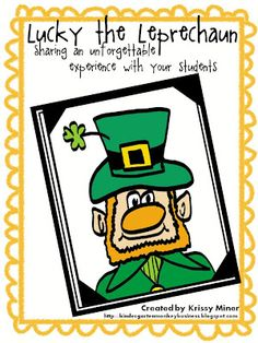 directions for the Leprechaun's incredible shrinking hat.  Free directions on how to do the magical project for your students and a Free printable freebie to follow up with!  So much fun.