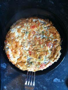 Forest Rose: Easy Breakfast Omelette - 4pp (Weight Watchers Friendly Recipe)