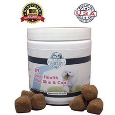 Natural Glucosamine For Dogs Plus Skin  Coat by Healthy Shelby With Glucosamine Chondroitin Omega 3  6  Yucca Helps Promote Flexibility  Mobility Naturally Flavored Soft Chews * Be sure to check out this awesome product.-It is an affiliate link to Amazon.