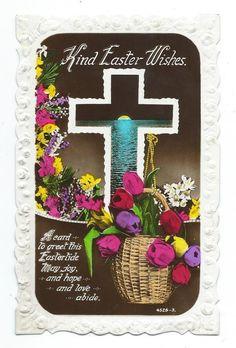 Kind Easter Wishes Belfast to Drogheda Windsor Series Real Photo Postcard c.1939 • AUD 2.27 - PicClick AU