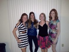 Some friends and I ready to hit the town to celebrate a 21st birthday!