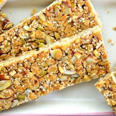 10 Perfectly Portable Snacks Packed With Protein: Cashew Almond Energy Bars http://www.prevention.com/food/healthy-eating-tips/portable-high-protein-snack-recipes?s=4&cid=NL_ROTD_1906838_11112014_CashewAlmondBarsImg