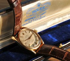 Vintage Rolex.   Freddy Heineken used to own this one.
