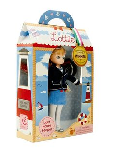 Lighthouse Keeper Lottie Doll #Lottie dolls