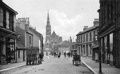 Old Photograph Montgomery Street Irvine, Scotland