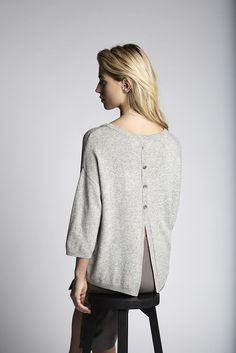Scott knitted sweater and the benedict leather skirt.   Fashion // clothing // woman // inspiration // www.dante6.com