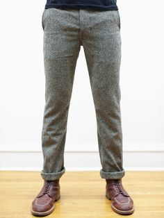 Japanese Tweed Tailored Chinos from Left Field NYC