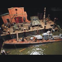 Volga River vignette By:Thomas Valle From: FineScale 1/35 scale  #scalemodel #scalemodelkit #usinadoskits #udk #plastimodelismo #plastickits #plasticmodel #plastimodelo #plamodel #miniatura #miniature #maqueta #maquette #hobby #diorama