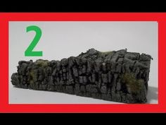 How To Make Miniature Stone Walls EASY Part 2 - YouTube
