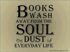 Reading does a soul good