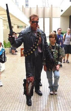 Terminator Cosplay done right