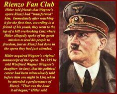 Rienzi was een van de lievelings opera's van Hitler Allegedly, First Time, Baseball Cards, People, Linz, People Illustration, Folk