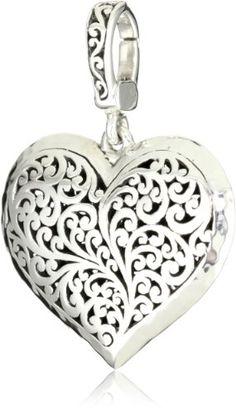 "Lois Hill ""Classics"" Cutout Heart Pendant Necklace Enhancer ** LEARN MORE @ http://www.ilikeboutique.com/boutique/lois-hill-classics-cutout-heart-pendant-necklace-enhancer/?a=8412"