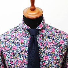 Grand Frank Toulouse floral shirt - Long sleeve cotton shirt for men. Floral, flower pattern - Slim fit von GrandFrank auf Etsy https://www.etsy.com/de/listing/214103744/grand-frank-toulouse-floral-shirt-long