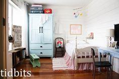 A Little Big Girl Bedroom - Tidbits