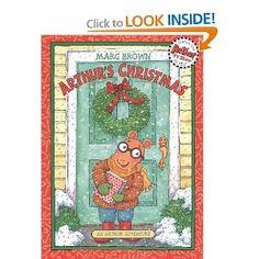 Arthur's Christmas: An Arthur Adventure (Arthur Adventures) : Marc Brown:  - AMAZON SAYS 3-8