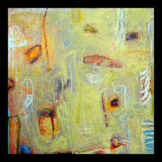 Burge, Lisa .   Taos, NM . non-representational oil paintings on gessoed panel/paper w/gestures of oil stick & graphite. information built up layer upon layer to create texture. exploring line, composition and color.