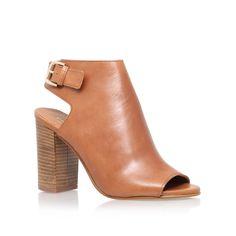 Assent Tan Mid Heel Ankle Boots By Carvela Kurt Geiger | Kurt Geiger