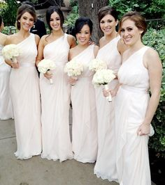 Hairstyles For One Shoulder Bridesmaid Dress