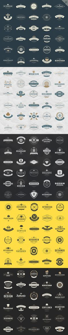 420 Vintage logotypes and badges by Vasya Kobelev on @creativemarket