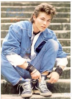 Image result for morten harket in California 1986