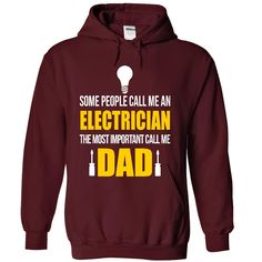 Electrician dad T-Shirts, Hoodies. Get It Now ==>…