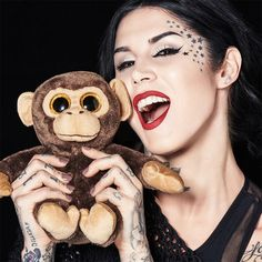 Kat Von D Project Chimps Everlasting Liquid Lipstick Kat Von D created this very special lipstick to benefit a cause that is close to her heart—ending animal testing. With every lipstick sold, 20 per