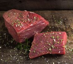 Buy Raw meat on wood by Sebastian_Studio on PhotoDune. Raw beef meat on a cutting board Greek Recipes, Kitchen Hacks, Food Network Recipes, Cooking Tips, Steak, Recipies, Food And Drink, Pork, Beef