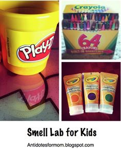 Teaching smell with a smell lab!