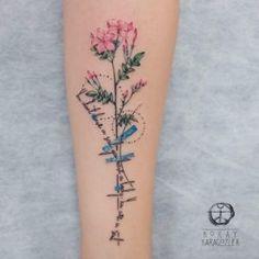 nice Women Tattoo - Jasmine memorial design by Koray Karagozler...