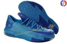 2014 Nike Zoom KD 6 Low 599424-810 Royal Blue Kevin Durant Shoes