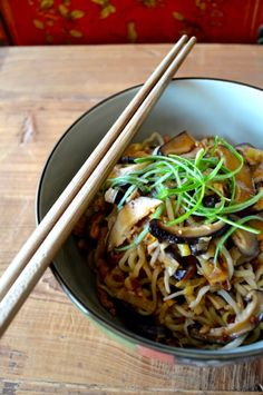 #Chinese #MUSHROOM #NOODLES recipe by the Woks of Life