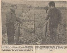 Grandpa Everett steelhead in the Lewiston Morning Tribune