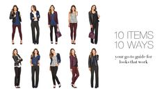 10 Items 10 Ways - Your Go-To Guide for looks that work