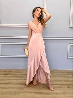 Latest Women Dresses Fashion Outfit Ideas For 2019 Bridesmaid Dresses, Prom Dresses, Formal Dresses, Dream Dress, Women's Fashion Dresses, Beautiful Dresses, Beautiful Women, Designer Dresses, Evening Dresses