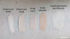 The Best Maybelline Concealers: review and comparison / covering up dark spots like melasma