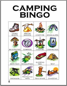 Craft Shop Bingo - do 4 crafts across and win a prize! (Maybe some only offered one day? Free board in center if doing 5x5)