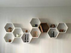Decor Inspiration for Hexagon box wall art