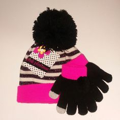 Anxinke Women Teen Girls Winter Keep Warm Shiny Beanie Hats