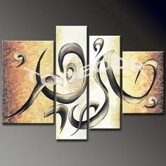 Large home decor paintings large wall decor by WallDecorCollection, $128.99