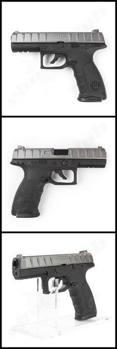 Beretta APX BlowBack CO2 Pistole Kaliber 4,5mm Stahl BBs - schwarz    - mit Metallschlitten und Blowback Funktion -