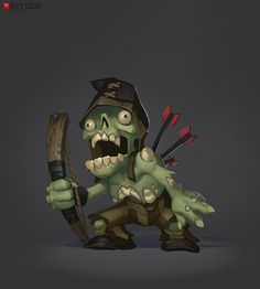 Zombi Archer Concept Another one done by Arthur. :)