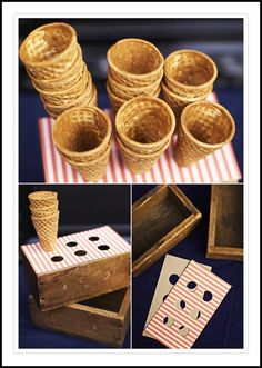 make your own cone holder