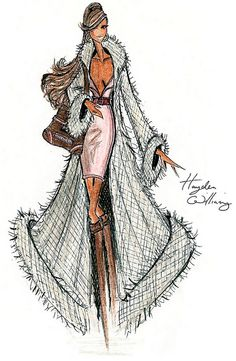 Hayden Williams for Fashion Royalty: Cashmere Perfection! #Hayden_Williams #Illustrations #Artistic