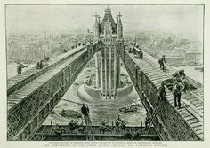 Credit: The British Library 1894: The completion of Tower Bridge, from the Graphic