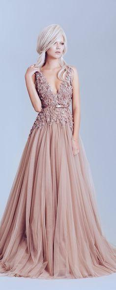Alfazairy Printemps-été 2015 - Haute couture - http://fr.orientpalms.com/alfazairy-5347